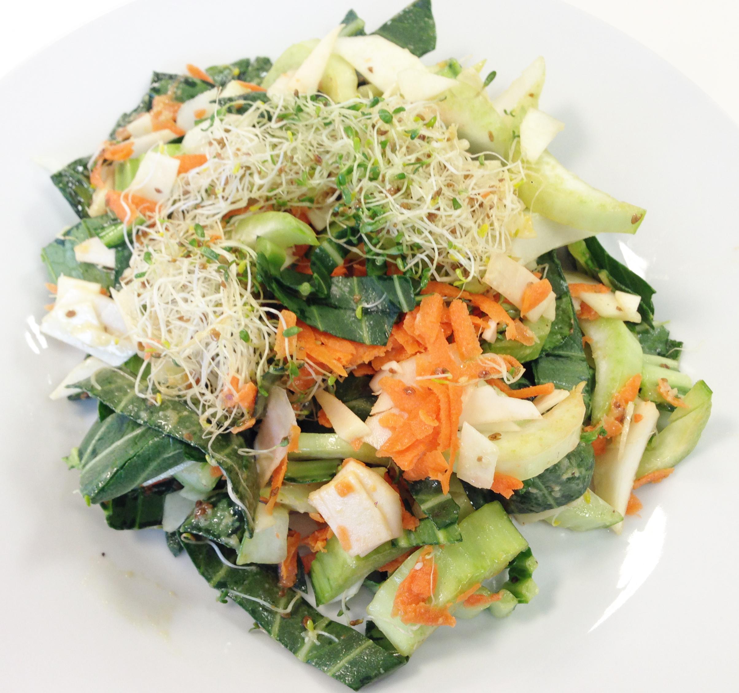 Chilled Tofu Salad With Miso-Ginger Vinaigrette Recipes — Dishmaps